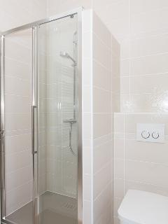The shower and Toilets