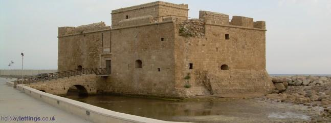 medieval castle at the harbour