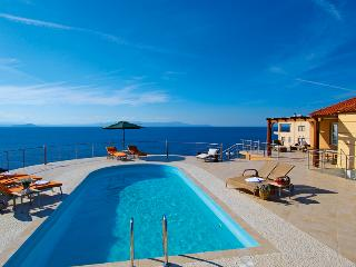 Seafront Villa with Pool, La Canea