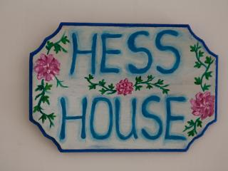 Hess house, the best location