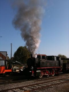 Take the steam train from Martel along the Dordogne valley