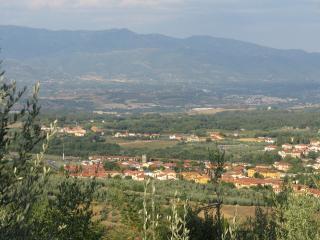 Panorama di Cavriglia