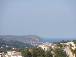 View to the Javea bay