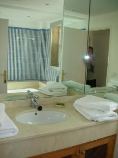 Luxury bathroom with Jacussi