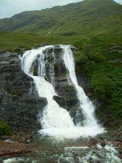 Water fall in GlenCoe
