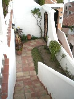 Small private gated garden