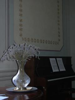 A piano just for you to play in the  Three centuries of Art apartment