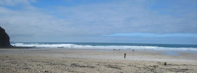 Porthtowan's award winning beach