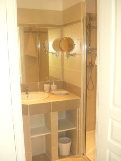 la salle de bain de la Casanna
