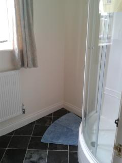 New shower room on the first floor