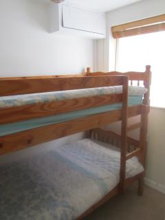 Bunk-bedded box-room