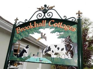 Entrance to Brookhall Cottages