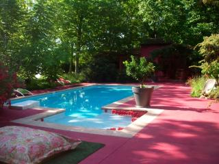 Serendip: Artistic 3 bedroom house on secluded Bathelasse Island in Avignon, features private grounds and swimming pool