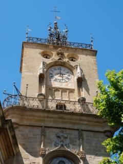 Aix-en-Provence clock tower