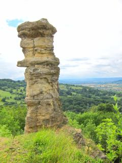 Walk up Leckhampton and see The Devil's Chimney