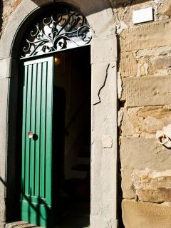 portone d'ingresso - the green door