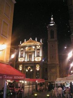 The Place Rossetti by night