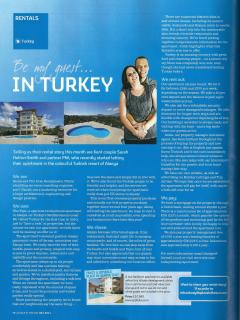 featured in 'A Place in the Sun' July 2011