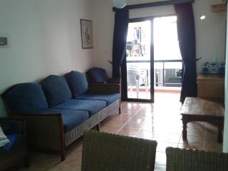 Main living area and balcony