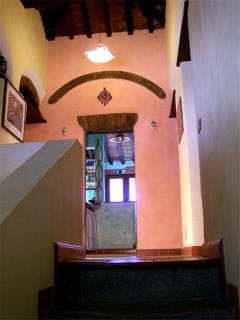 le scale per accedere alle camere da letto