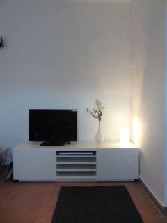 TV and DVD corner