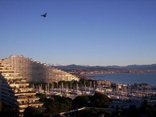 Vues panoramiques sur la mer Appartement en Costa Azzurra, Villeneuve-Loubet