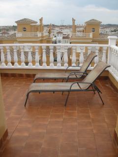 Roof sun terrace