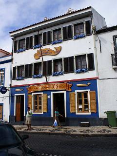 Peter's Cafe Sport, a cafe/bar/restaurant close to the apartment