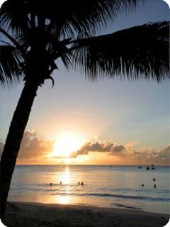 Stunning Sunset at Paynes Bay