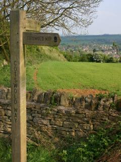The Cotswold Way which begins and ends in Campden (the other end being Bath, over 100 miles away!)