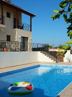 Our villa and private pool