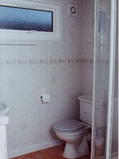 Shower Room with fitted vanity unit/basin, shower, WC