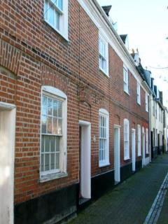 A typical old Harwich street