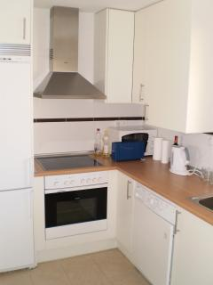 Compact fitted kitchen