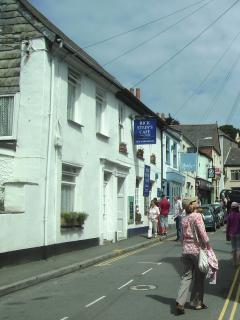 Padstow - famous for Rick Stein's Fish restaurant and eateries