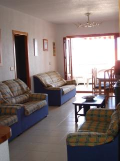 4 bedroom 8A Poblado Pescador apartment lounge