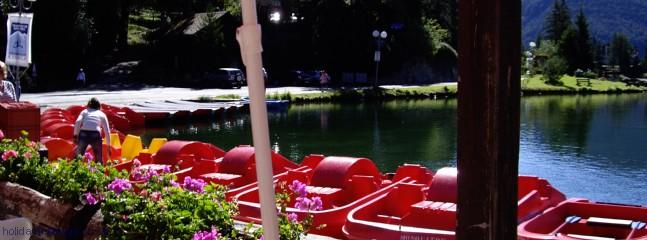Pedalos for hire