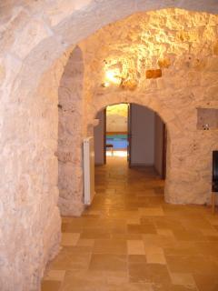 Original stone passageway