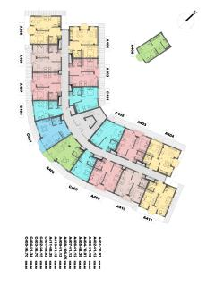 Floor Plan Apartment :405