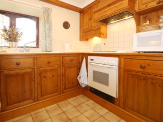Well-equipped kitchen with hand-made pine cupboards