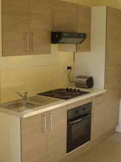 Your modern kitchen has all you need if you want to cater for yourselves.