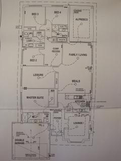 Layout Plan of House