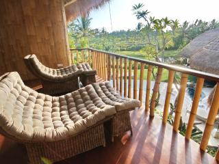 Stay on the edge of a small, quiet Balinese village