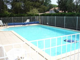 Pool [Showing new (2011) safety fence]
