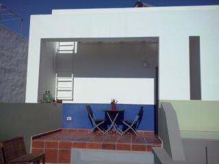 Terraza privada de la habitación Atlántico