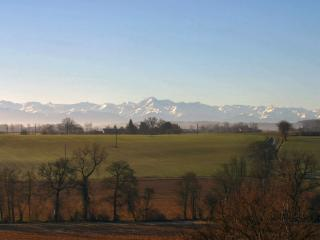 Stunning views of the Pyrenees await you in Gascony