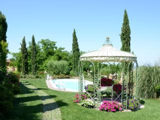 panoramica vista piscina