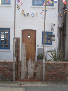 Hill Head driftwood gate