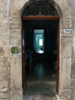 ingresso alla casa