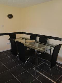 Dining area in Leslie House